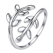 adjustable ring silver
