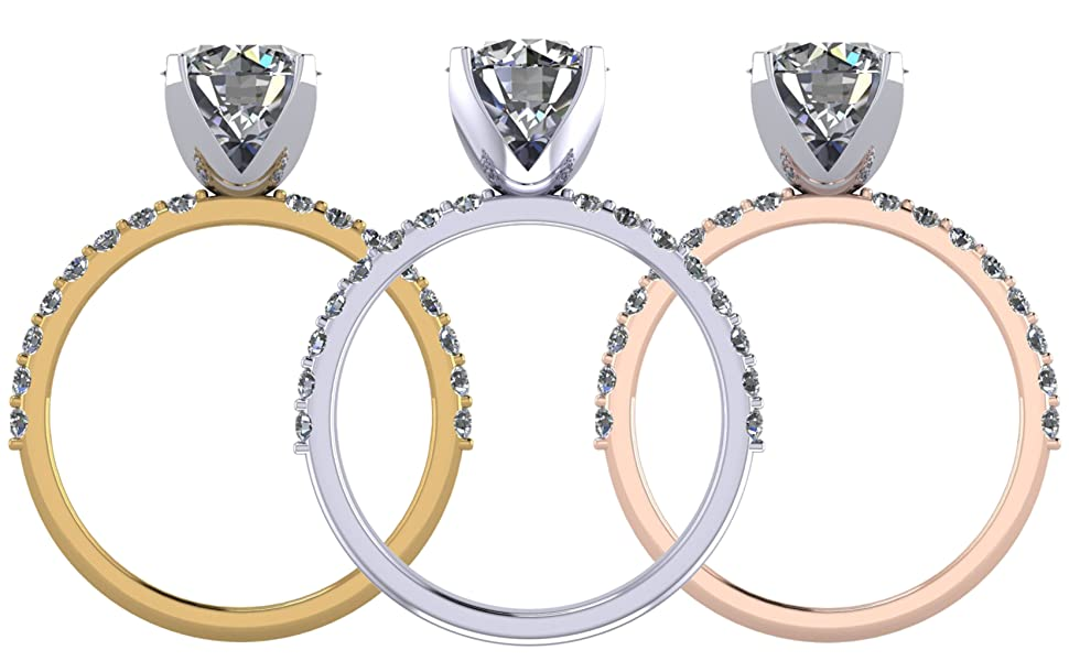 ring engagement ring silver rings for women womens rings diamond rings for women