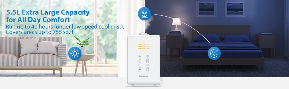5.5l humidifier