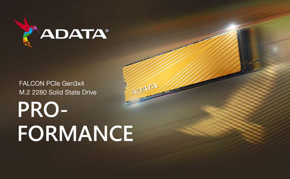 Amazon.com: ADATA Falcon 3D NAND PCIe Gen3x4 NVMe M.2 2280 Read/Write Speed  up to 3100/1500 MB/s Internal SSD: Computers & Accessories