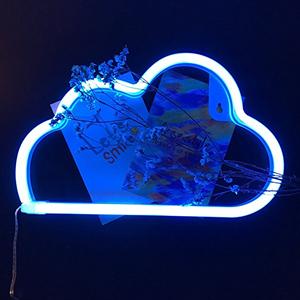 Cloud neon light