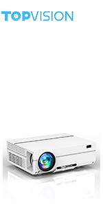 TOPVISION Native 1080P Full HD projector