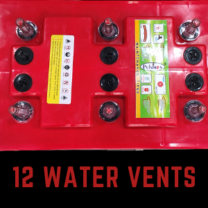 12 water vents