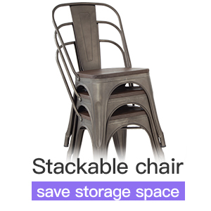 Metal Kitchen Table Set Dining Table Chair6