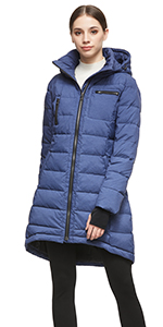 Amazon.com: Orolay Womens Thickened Down Jacket (Most ...