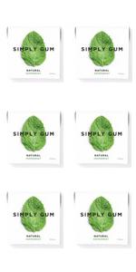 Simply Gum | Chicle de Menta | Natural, Vegetariano, y no GMO ...