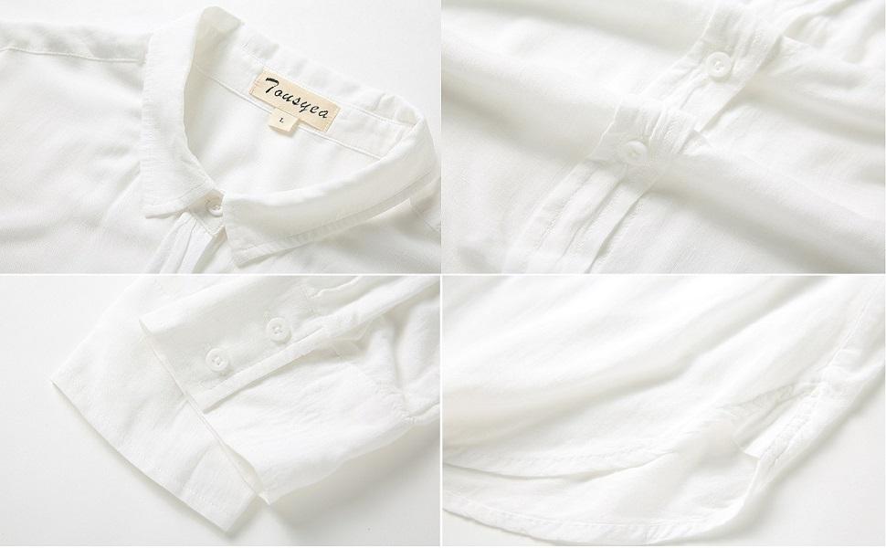 TOUSYEA Sleep Shirt Details