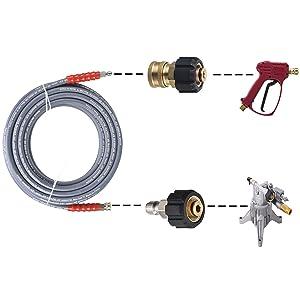 3/8 pressure washer hose