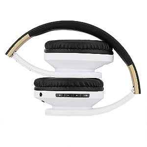 ausziehbare und faltbare Kopfhörer passt perfekt in den Tragekoffer und ist sehr einfach zu tragen