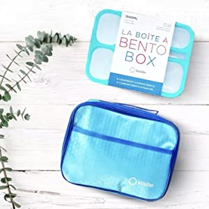 kinsho bento box for kids adult lunch snack containers work for adults and teens for school