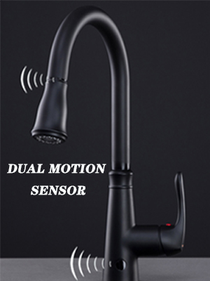 Touchless Kitchen Faucet Pull Down Sprayer