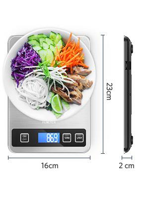 balance alimentaire Dimension: 9 * 6,3 * 0,79 pouces