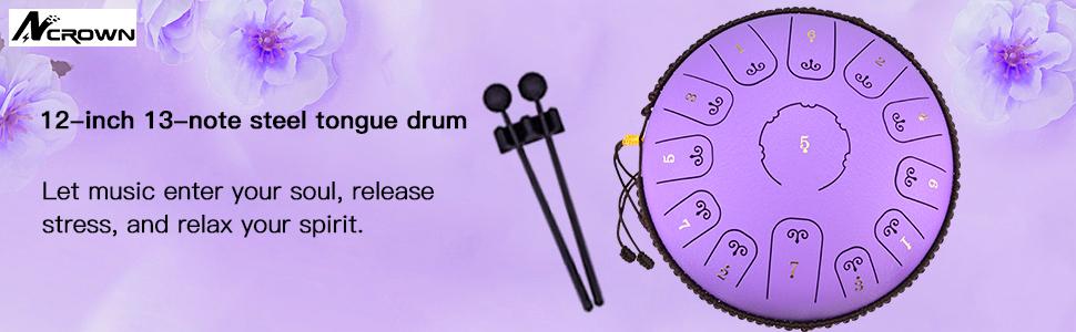 Steel Tongue Drum