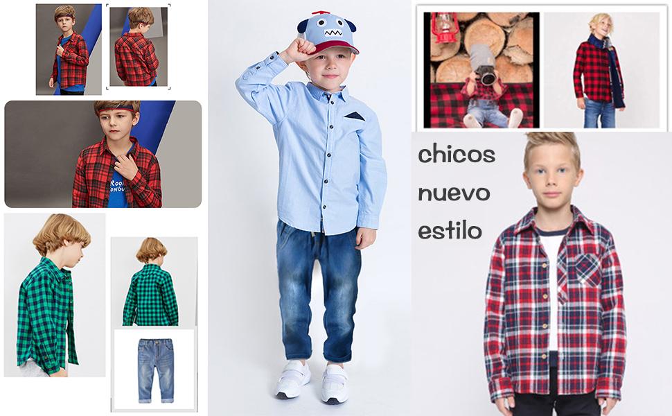 Español bebé niños ropa tradicional español Muchachos Camisa y Corto Conjunto