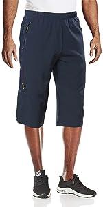 3/4 shorts for men