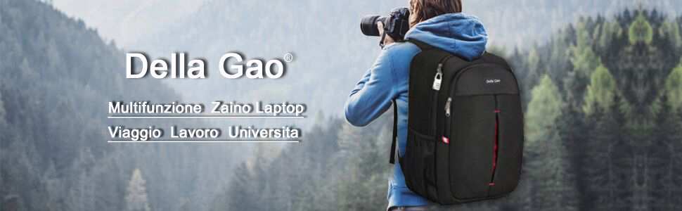 Della Gao Zaino Laptop