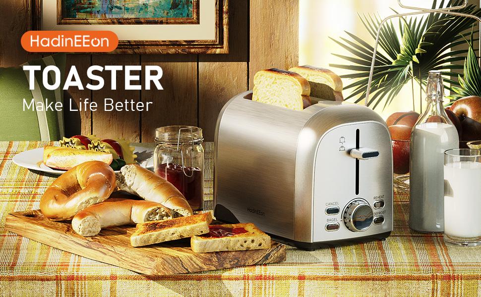 Toaster 2 slice Stainless Steel Toaster
