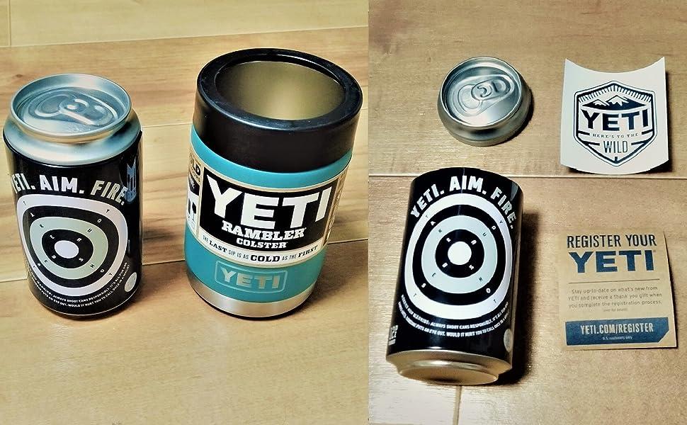 YETIオリジナル缶