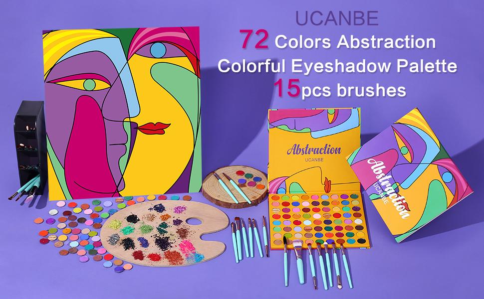 ucanbe 72 color eyeshadows