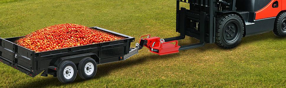 """2"""" trailer hitch receiver for pallet forks-06"""