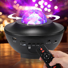 Sky Laser Star Projector Ocean Wave Night Light