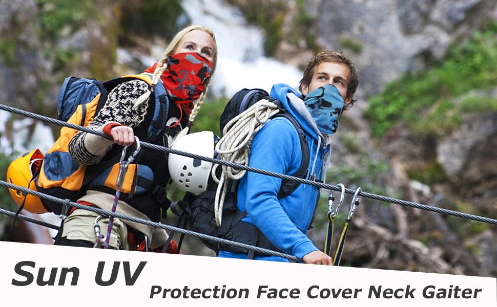 Details about  /EG/_ FJ DI BG/_ Bandana Cherry Print Anti-UV Neck Gaiter Tube Scarf Unisex Breat