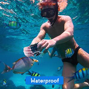 Impermeabilità fino a 40M e modalità Snorkeling