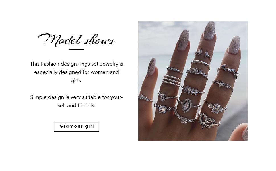 rings set for women