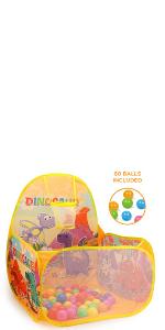 Dinosaurs ball pit