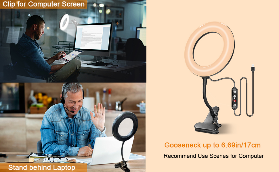 webcam with light ring