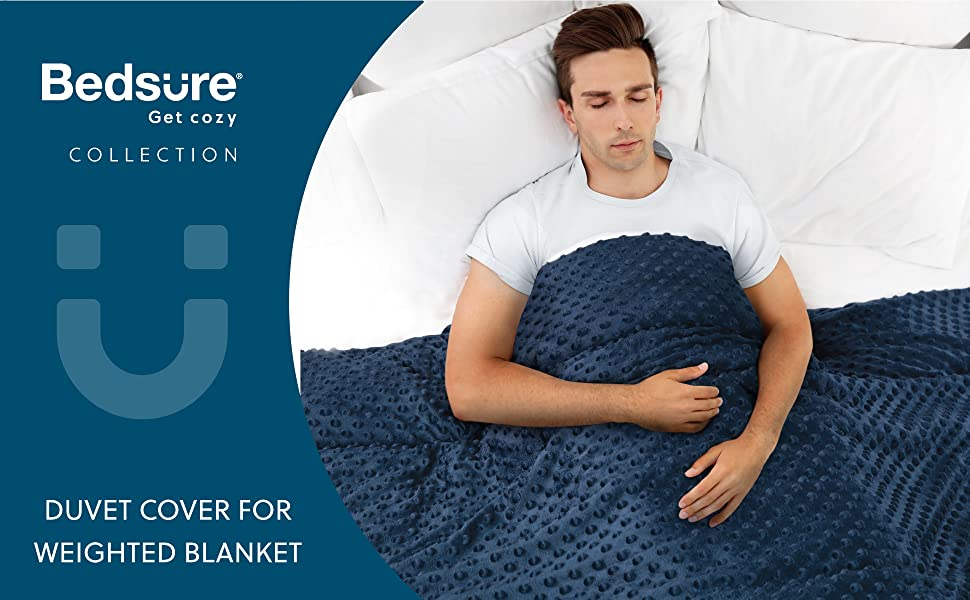 Get cozy with duvet cover for weighted blanket