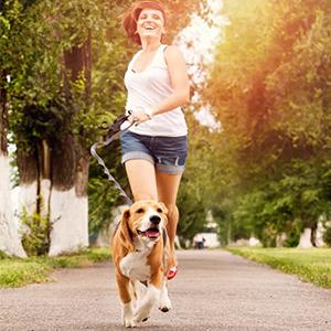 Courir avec des chiens