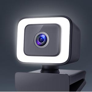 webcam with soft light