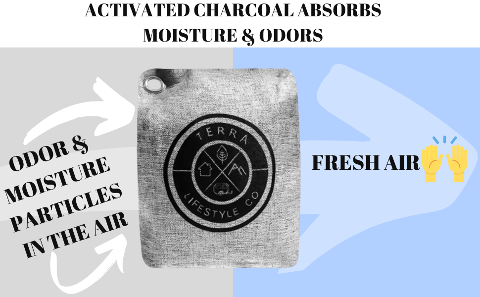 Fresh air absorption solution scent-free wyewye activated health charcaol decoration home product