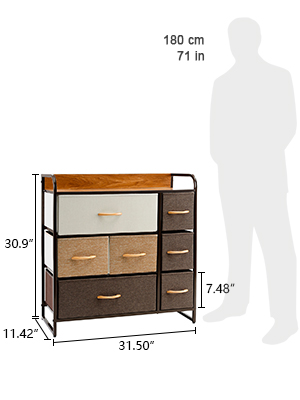 dressers with drawer