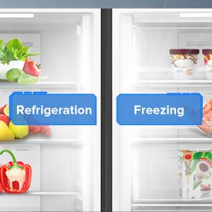 Convertible en Réfrigérateur ou congélateur