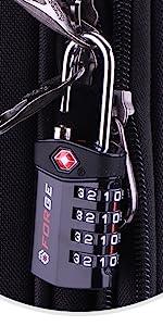 4 Dig TSA Locks, luggage lock for toolbox, gym locker, suitcases, luggage, pelican case, gun case
