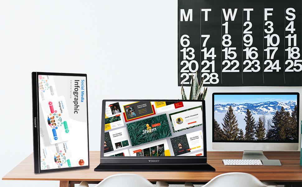 portabal game monitor,external office monitor