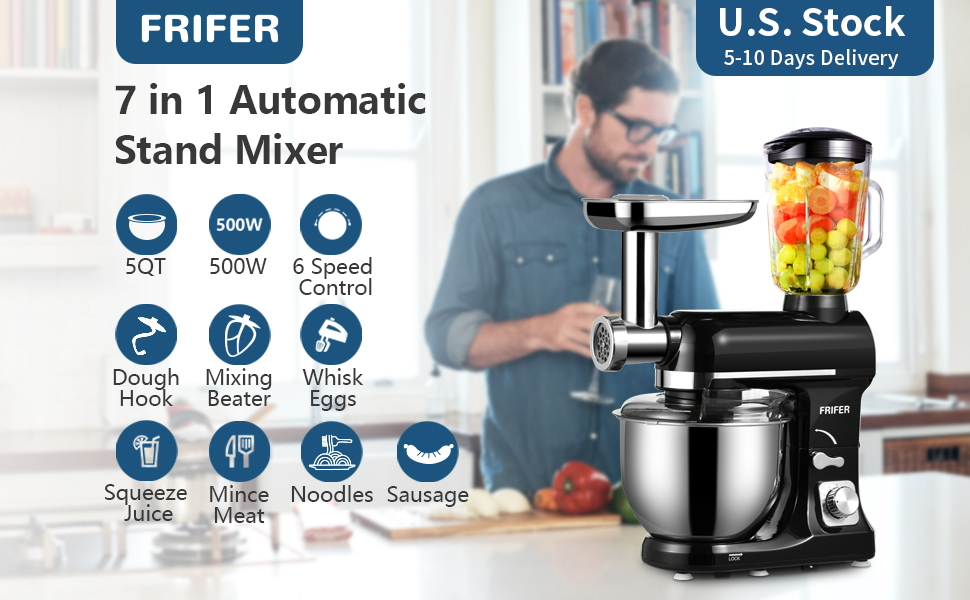 7 in 1 Stand Mixer