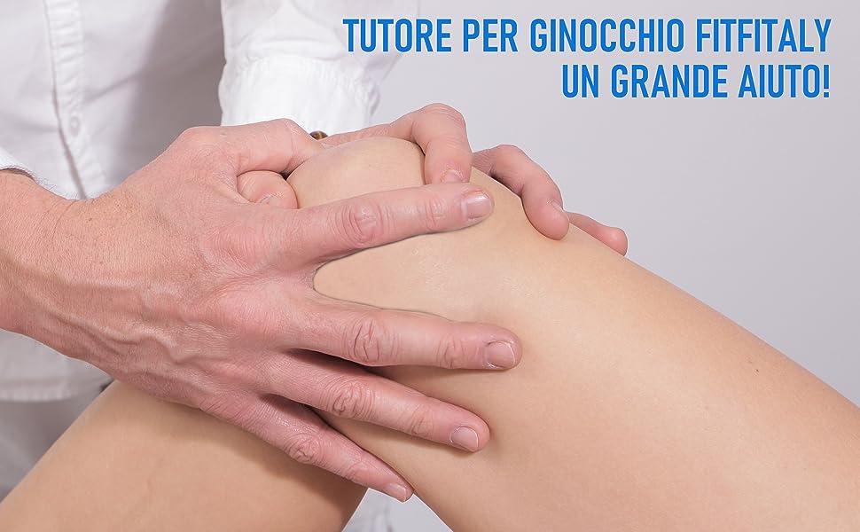 Una visita specialistica può consigliare l'uso del tutore per ginocchio FitFitaly per riabilitazione