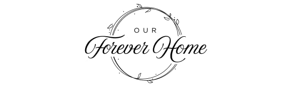 Our Forever Home scented candles, jar candles