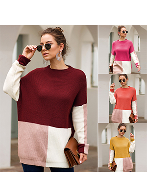 Knitted sweater for womens