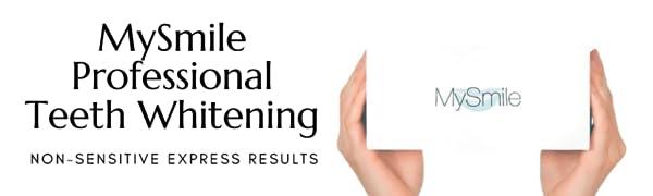 MySmile Teeth Whitening Kit Professional Teeth Whitening Non Sensitive Express Results