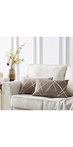 decorative couch orange pillow covers