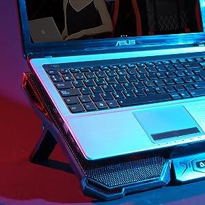 Cyclone laptop cooler