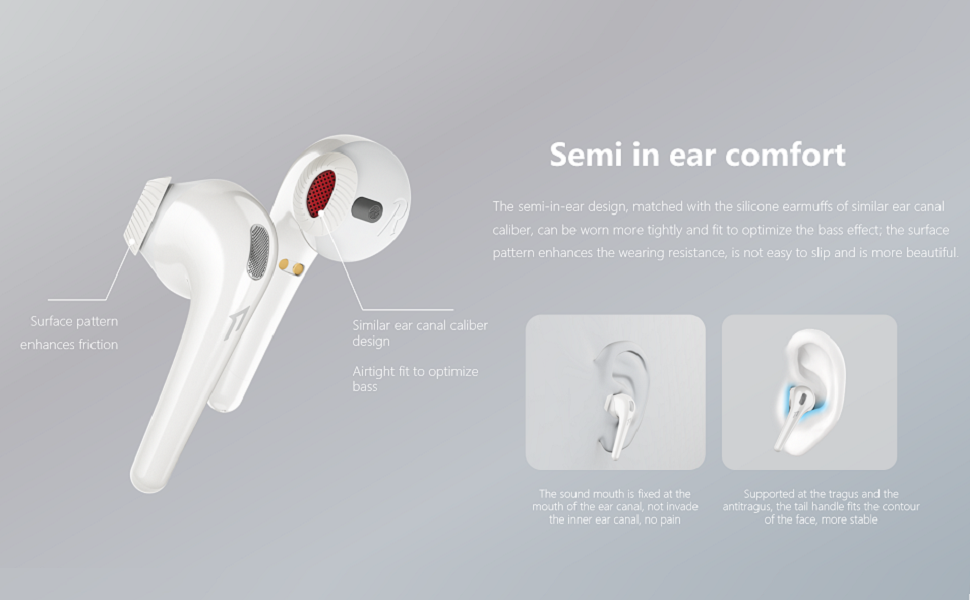 1MORE Earphones wireless headphones with microphone