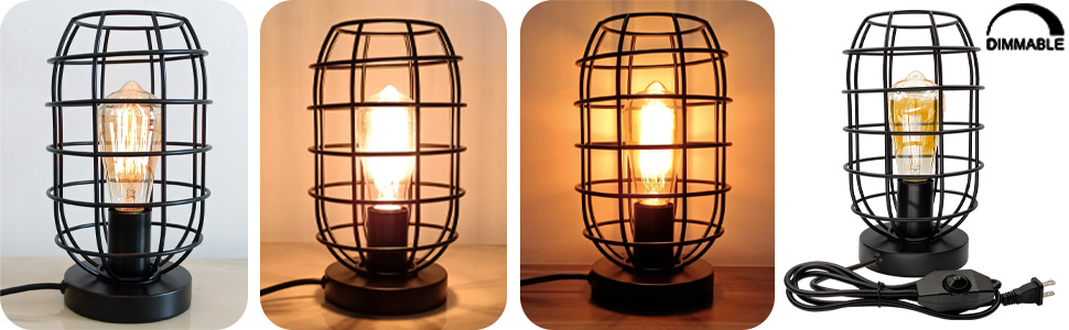 edison table lamp dimmable