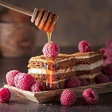 raw honey gifts new zealand gourmet sweet gift box men women dessert baking cooking sweetner