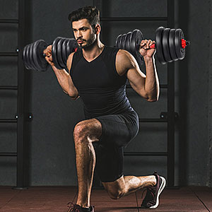 Dumbbells to Barbell