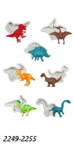 Dinosaur Molds Set 7-count